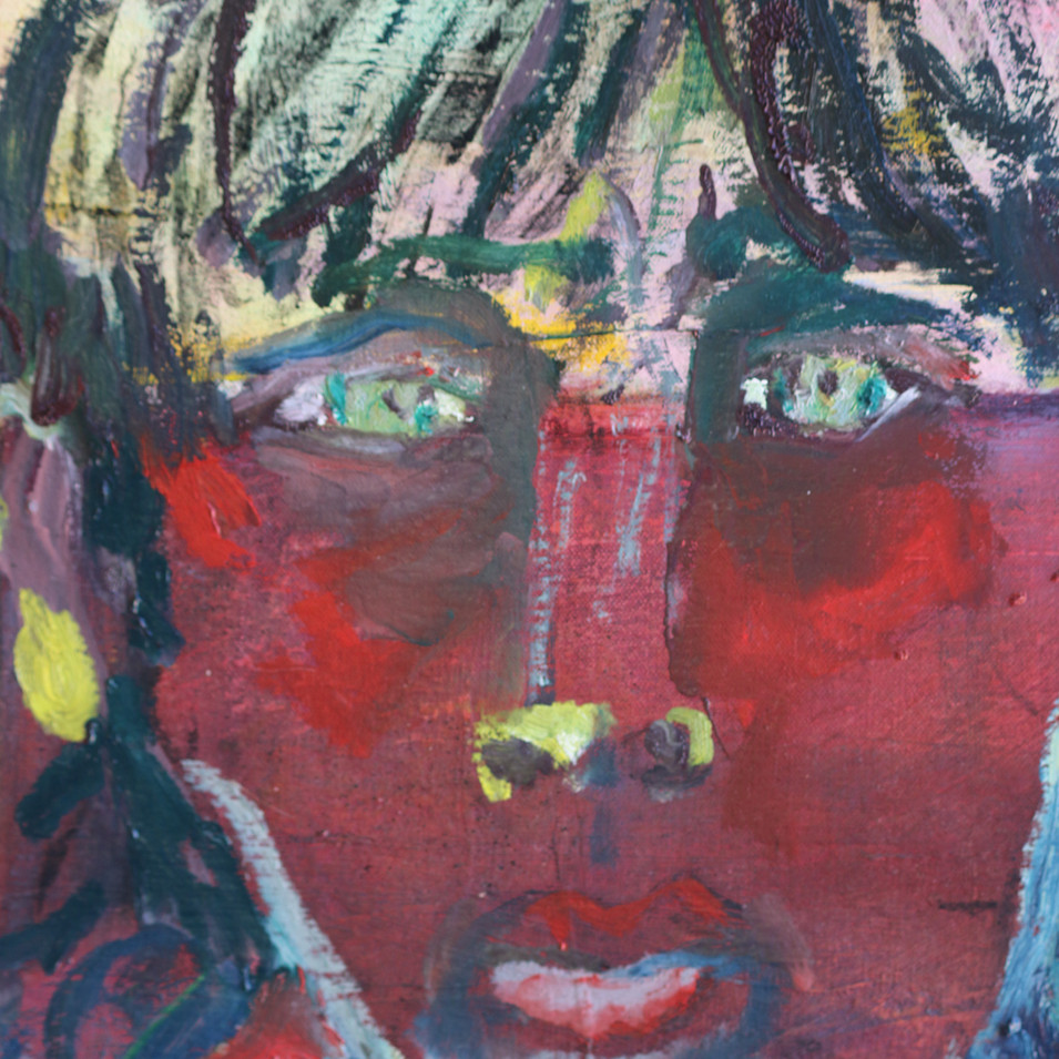 detail refugee boy
