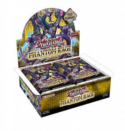 YU-GI-OH! TCG Phantom Rage x12 Booster Box Case
