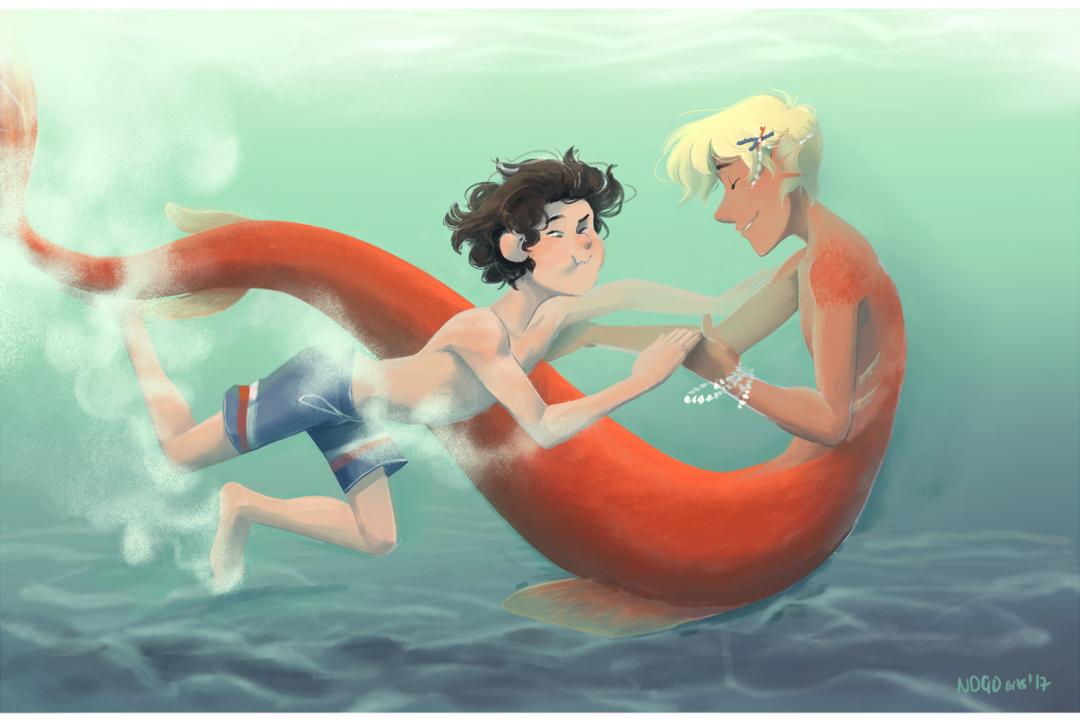 Jamie and Aiden Mermaid
