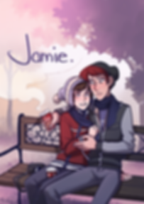 Cover of Jamie, webcomic