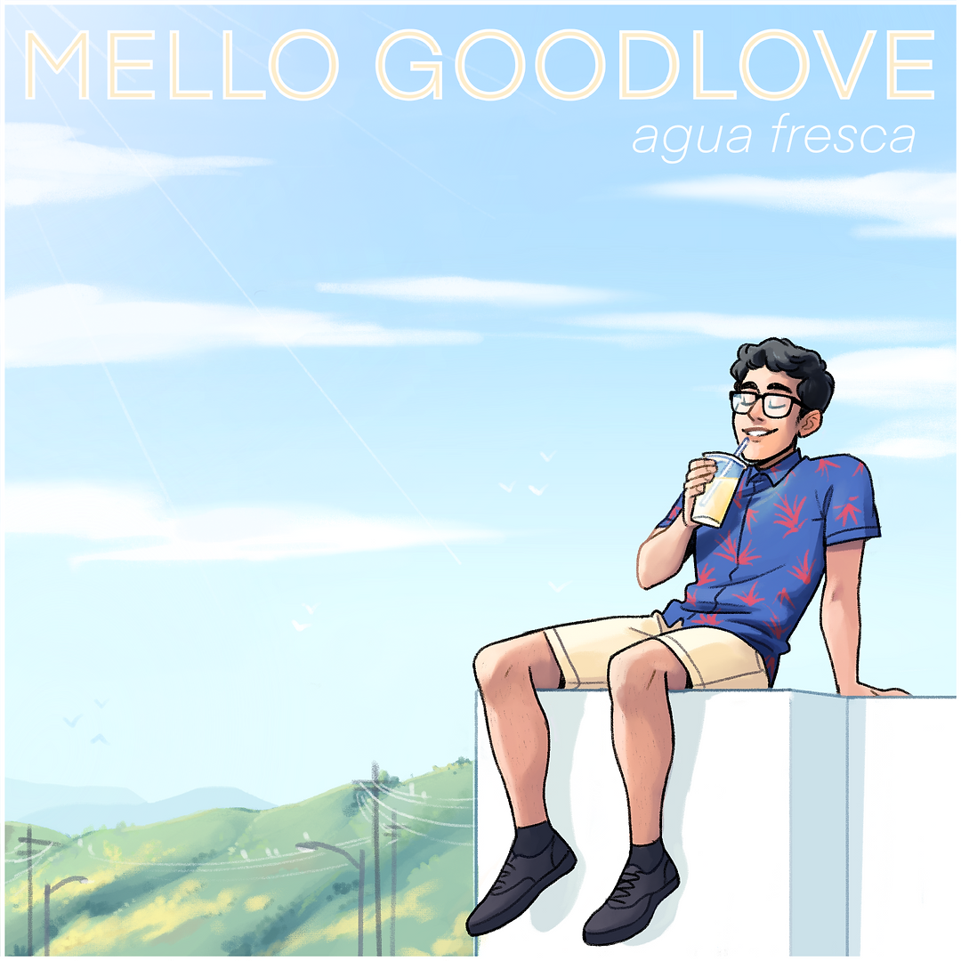 Mello Goodlove - Agua Fresca ALBUM ART
