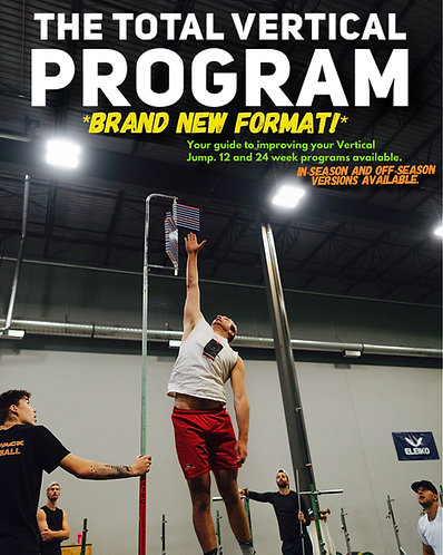 Total Vertical Program: Off-Season (4x/week)