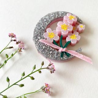 Pink Sweet Patricia Brooch