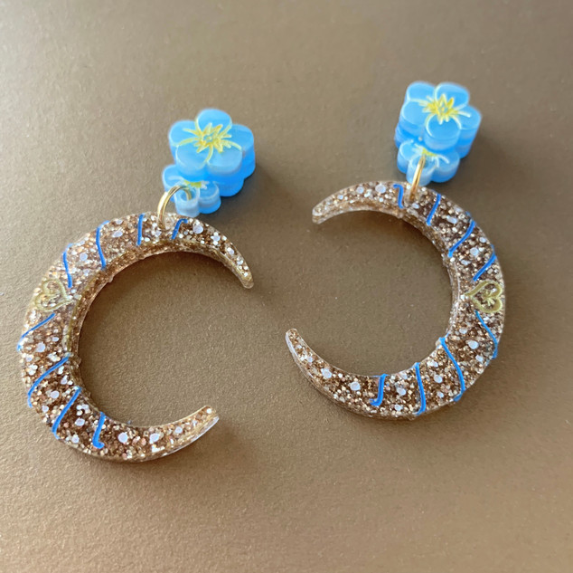Blue Sweet Patricia Earrings