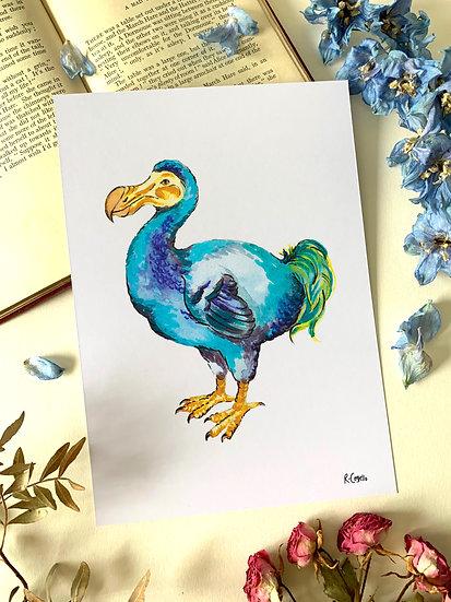 Dodo - A5 Art Print