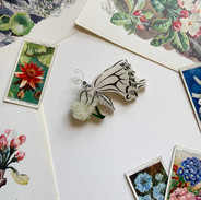 Belinda the Butterfly Brooch *New Colourway*