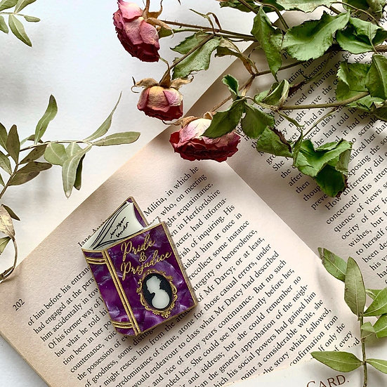 *Seconds Sale* First Impressions Book Brooch