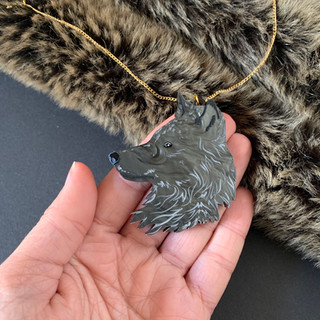 The Lone Wolf Necklace
