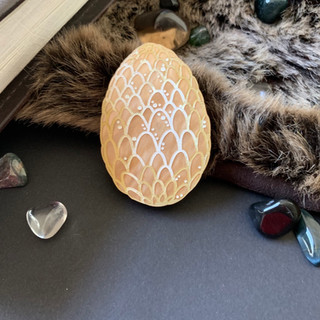 The Gold Dragon Egg Brooch