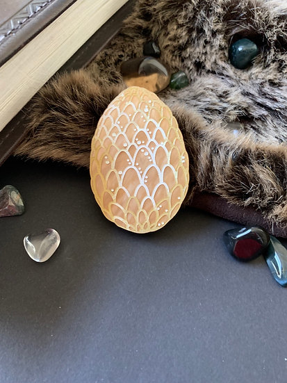 *Seconds Sale* Gold Dragon Egg Brooch