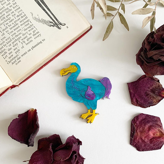 *Seconds Sale* Dodo Brooch