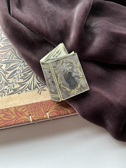 Jane Eyre Book Brooch