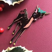 Cupid the Reindeer Brooch