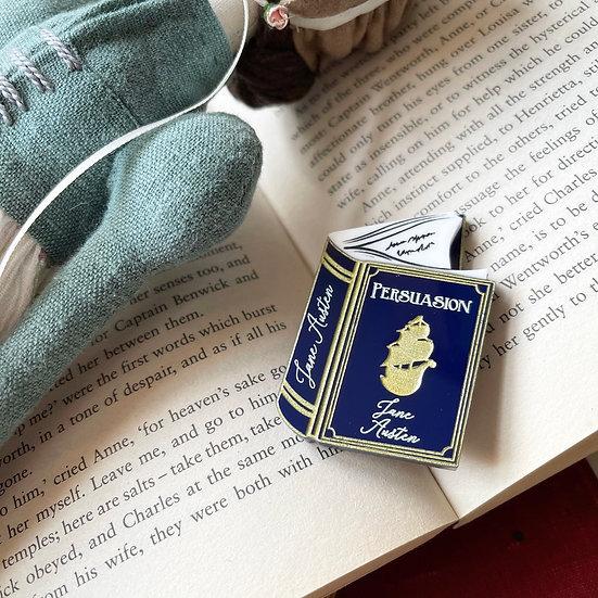 Persuasion Book Brooch