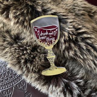 The Wine of Wisdom Brooch