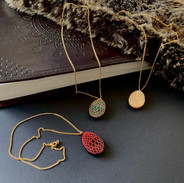 The Dragon Egg Pendant Necklaces