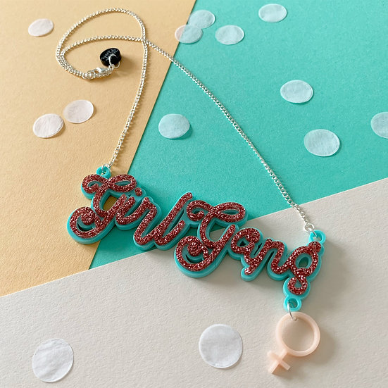 *Seconds Sale* Girl Gang Necklace