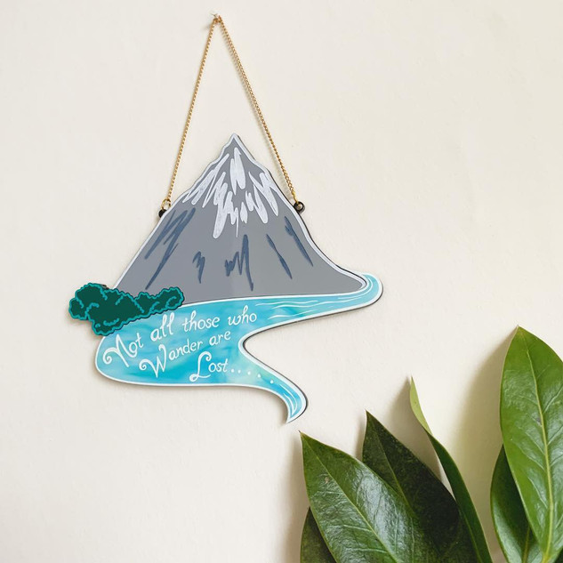 Misty Mountain Wall Hanging
