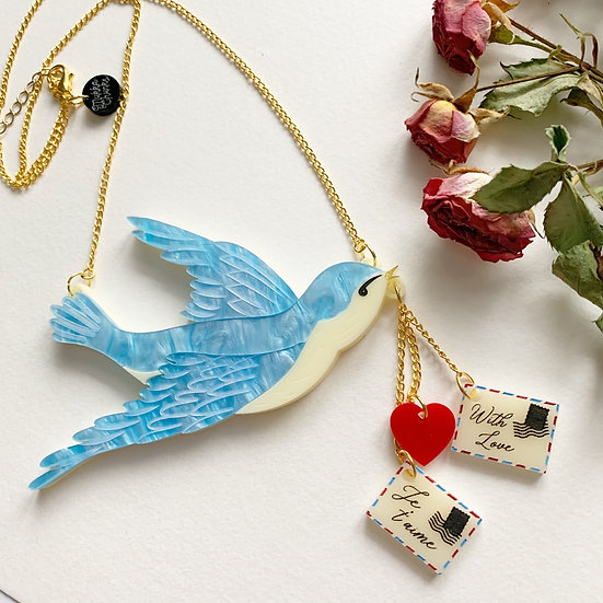 Messenger of Love Necklace