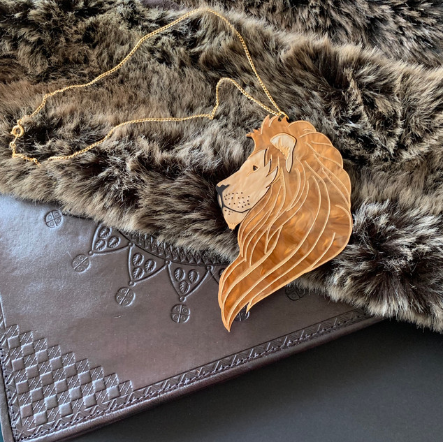 The Regal Lion Necklace