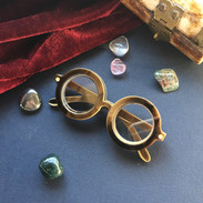 The Wizards Spectacles Brooch