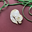 Thumbnail: *Seconds Sale* Snowy White Salem the Cat Brooch