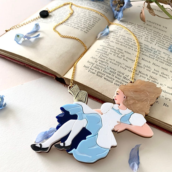 *Seconds Sale* Falling Alice Necklace Pre-Order