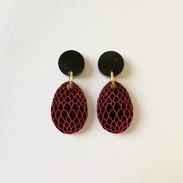 The Black Dragon Egg Earrings