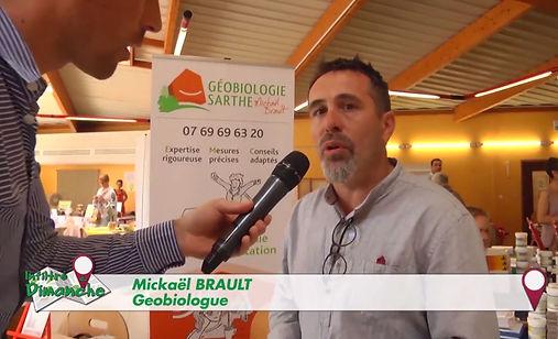 LMTV, mickaël Brault, géobiolgogue, sarthe, tv