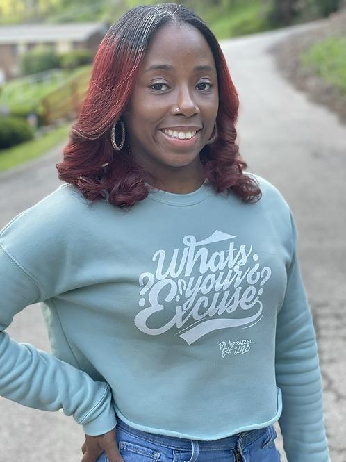 Woman's Cropped Sweatshirt