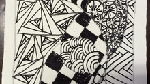 Prachtige pen-tangles door kidz-art kinderen!