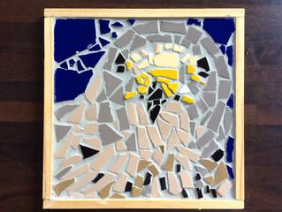 Dierengezichten in mozaiek- resultaten!