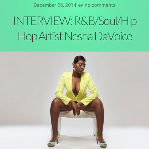 Nesha DaVoice Features on Vents Magazine.