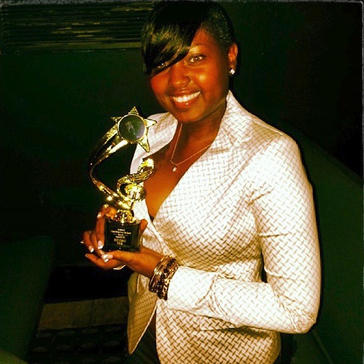 "Nesha Wins ""Best Female R&B Artist"" I Love Being From South Award."