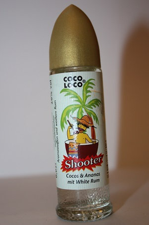 Coco loco Shooter cocos & ananas mit white rum