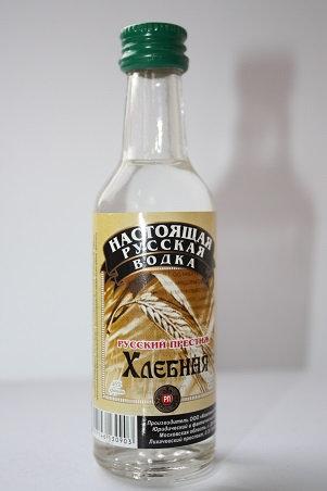 Настоящая русская водка русский престиж хлебная
