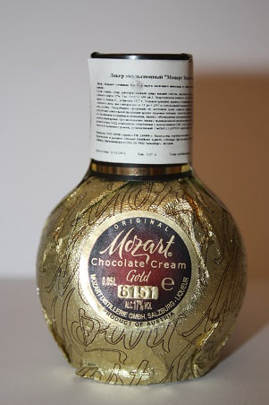 Mozart chocolate crèam gold