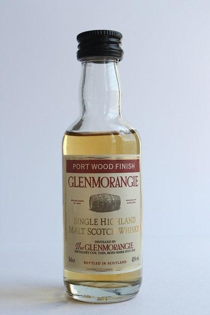 The Glenmorangie port wood finish