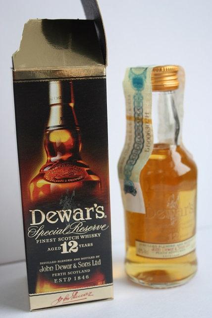 Dewar's special reserve 12 years