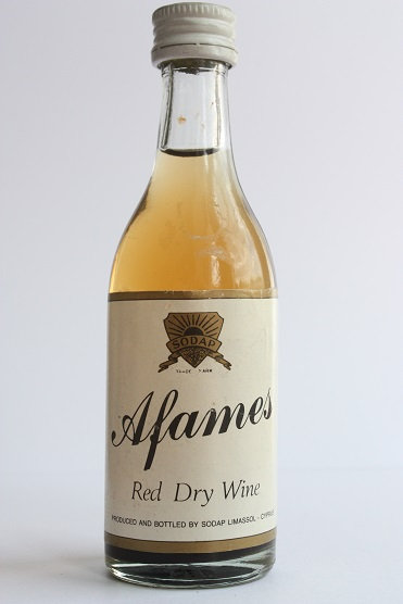 Afames red dry wine