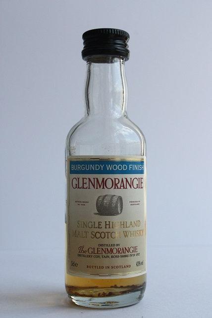The Glenmorangie burgundy wood finish