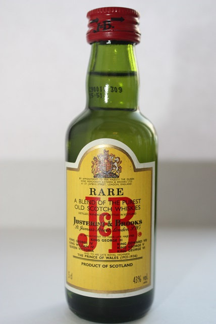 J&B (Justerini & Brooks) rare