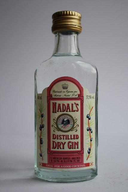 Nadal's distilled dry gin