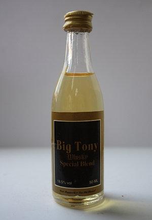 Big Tony whisky special blend