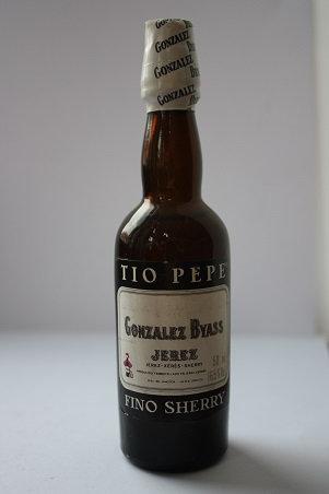 Tio Pepe Fino Sherry Gonzalez Byass