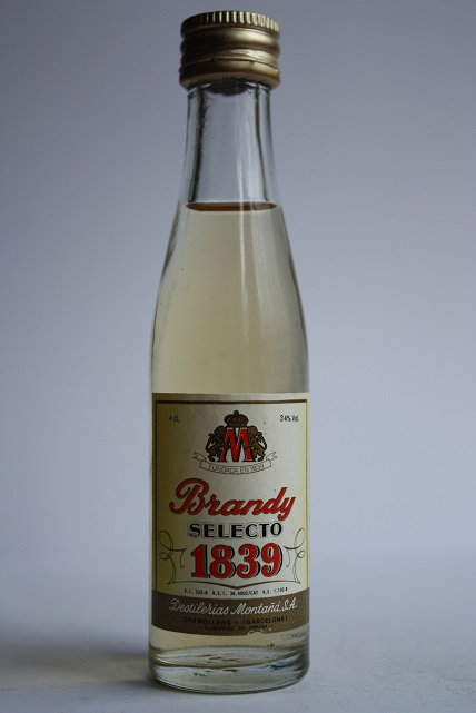 Brandy selecto 1839