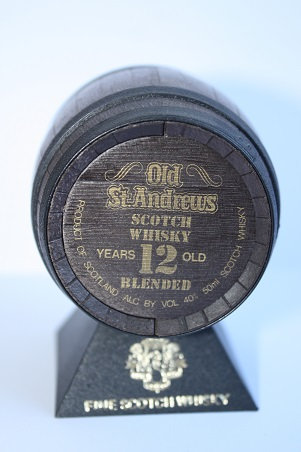 Old St.Andrew's clubhouse, 12 years old blended