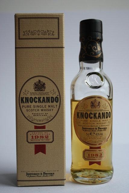 Knockando. Distilled 1982, bottled 1996. 14 years old