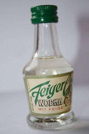 Feigerl wodka mit feige