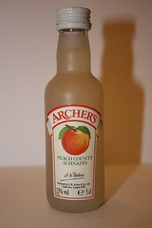 Peach county schnapps